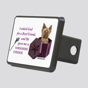 Yorkshire Terrier Yorkie Rectangular Hitch Cover