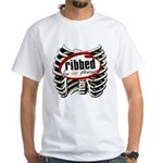 Ribbed for Her Pleasure White T-Shirt