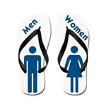 Men Women (ff) Flip Flops