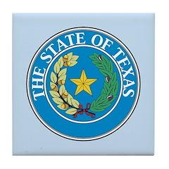 Texas Seal Tile Coaster