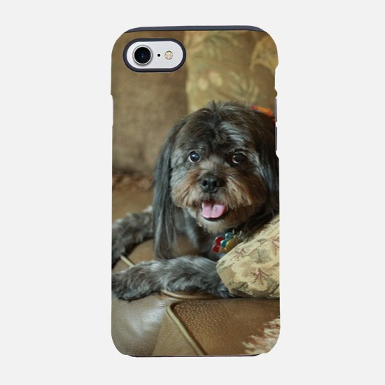 indoor dogs floppy ears iPhone 7 Tough Case