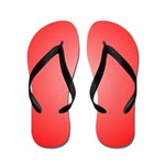 Red Shine (FF) Flip Flops