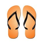 Orange Shine (FF) Flip Flops