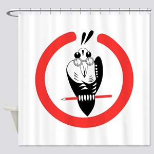 4.(F) 121.psd.png Shower Curtain
