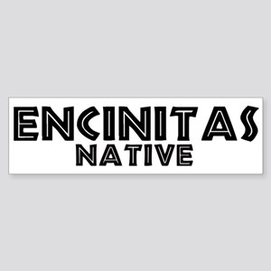 Encinitas Native Bumper Sticker