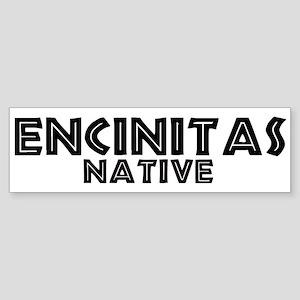 Encinitas Native Bumper Sticker
