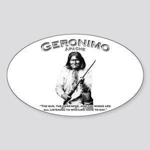 Geronimo 01 Oval Sticker