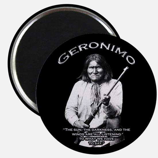"Geronimo 01 2.25"" Magnet (10 pack)"