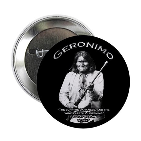 """Geronimo 01 2.25"""" Button (100 pack)"""