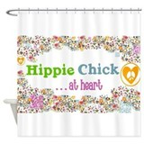 Hippie Shower Curtains