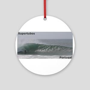 Bodyboard Supertubos Ornament (Round)