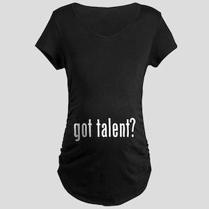 Got Talent 2 Maternity Dark T-Shirt