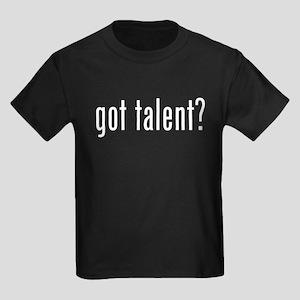 Got Talent 2 Kids Dark T-Shirt
