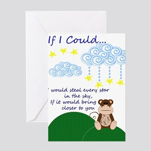Funny monkey missing you greeting cards cafepress missing you greeting card m4hsunfo