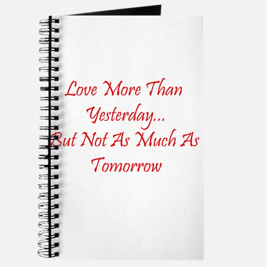 Love More Than Yesterday.png Journal
