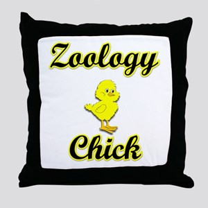 Zoology Chick Throw Pillow