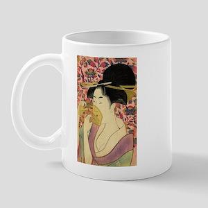 Vintage Japanese Woman Mug