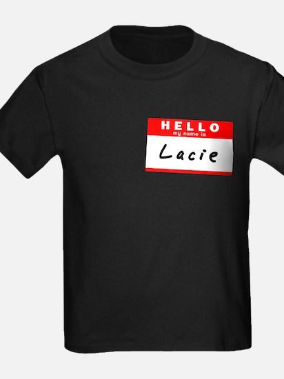 Lacie, Name Tag Sticker T