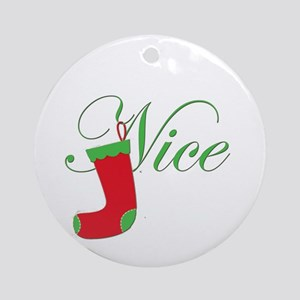 Nice.png Ornament (Round)