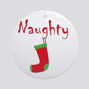 Naughty.png Ornament (Round)