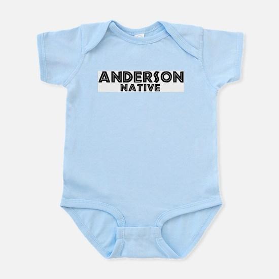 Anderson Native Infant Creeper