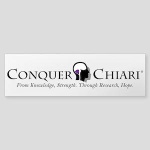Conquer Chiari Sticker (Bumper)