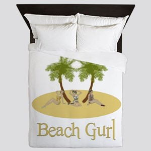 Beach Gurl Queen Duvet