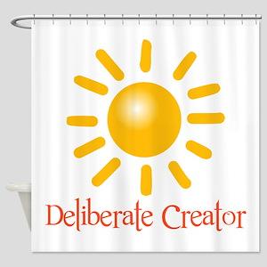 Deliberate Creator Shower Curtain
