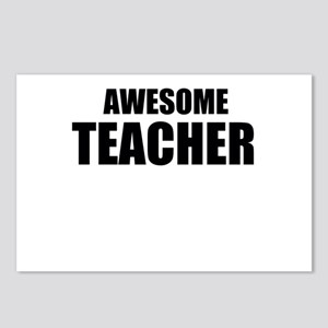 Awesome teacher Postcards (Package of 8)