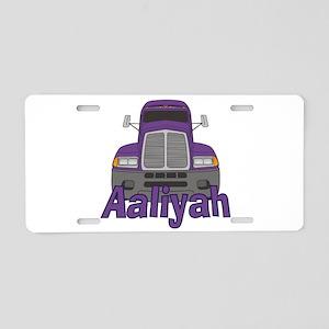 Trucker Aaliyah Aluminum License Plate