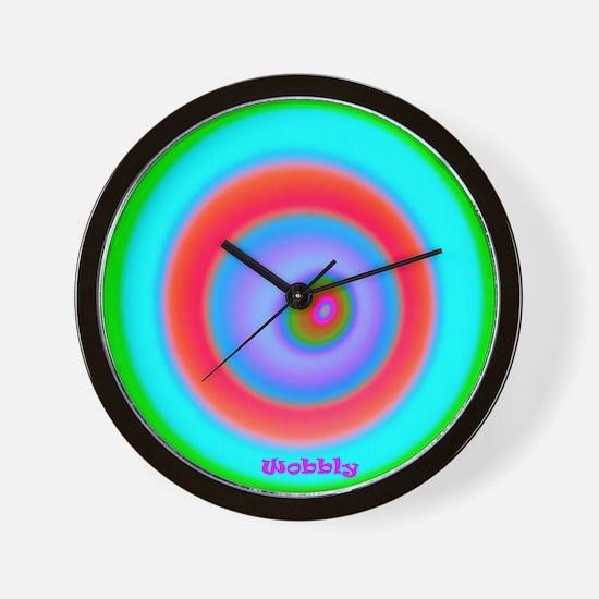 Wobbly Wall Clock