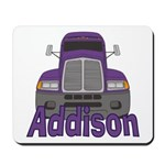 Trucker Addison Mousepad