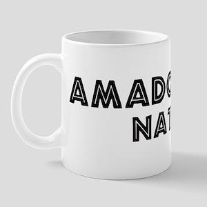 Amador City Native Mug
