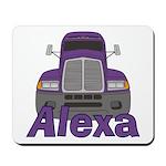 Trucker Alexa Mousepad