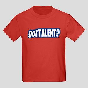 Got Talent Logo Kids Dark T-Shirt