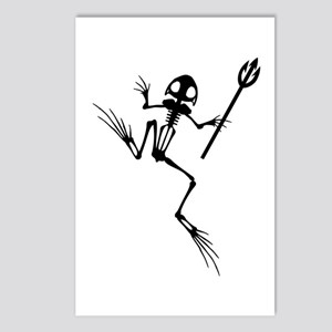 Desert Frog w Trident Postcards (Package of 8)