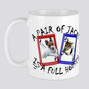 "Jack Russell Terrier ""PAIR OF JACKS"" Mug"