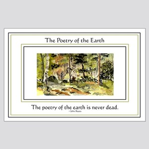 Poetry of the Earth Large Poster