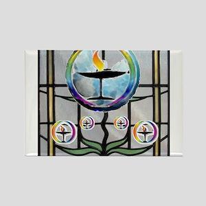 Unitarian 3 Rectangle Magnet