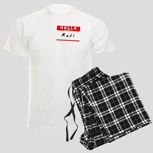Rafi, Name Tag Sticker Men's Light Pajamas