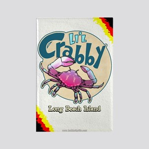 Li'l Crabby... Rectangle Magnet