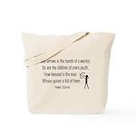 PSALM 127 (ARCHER) Tote Bag