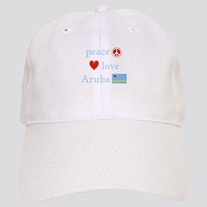 Peace, Love and Aruba Cap