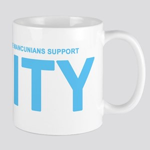 True Mancunians Support City Mug