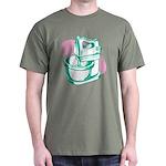 'Green Mixer' Dark T-Shirt