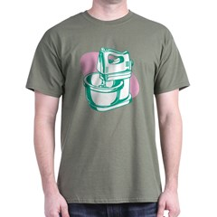 'Green Mixer' Dark T-Shirt