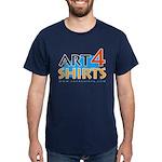 'Art 4 Shirts' Dark T-Shirt