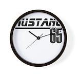 MUSTANG 65 Wall Clock