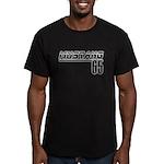 MUSTANG 65 Men's Fitted T-Shirt (dark)