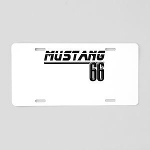 MUSTQANG 66 Aluminum License Plate